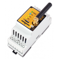 GSM Communicator GSM-DIN3 230V 2 relays 5A