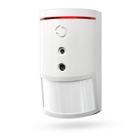 JA-160PC Wireless PIR motion detector with camera and flash