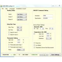 GSM temperature monitoring thermostat