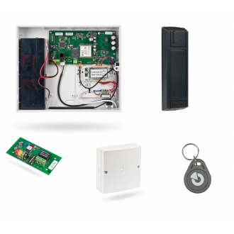 GSM RFID Access control with live events and remote administration