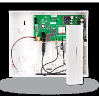 JA-101KR-LAN Control panel with built-in GSM/GPRS/LAN communicators and radio module