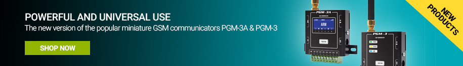 PGM-3A and PGM-3 GSM communicator