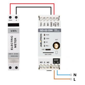 GD-02-DIN Universal GSM controller