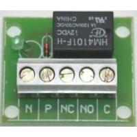 SPR-12 Single Pole Relay, 12-24V DC Coil